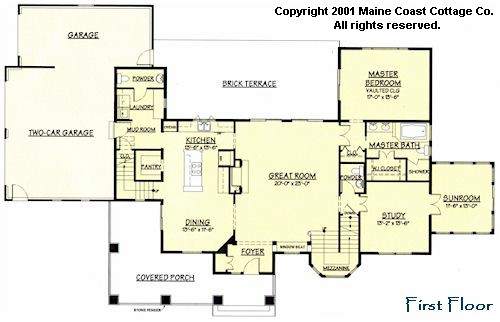 Nantucket shingle home plans home design and style for Maine cottage house plans