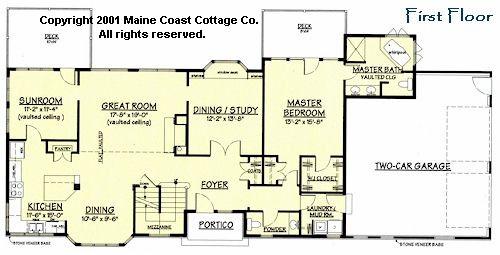 Maine cottage plans joy studio design gallery best design for Maine cottage house plans