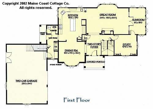 shingle style house plansmaine coast cottage co. offering