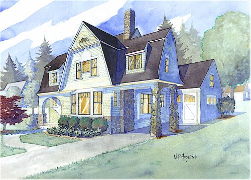 Shingle style house plans by maine coast cottage co for House plans maine