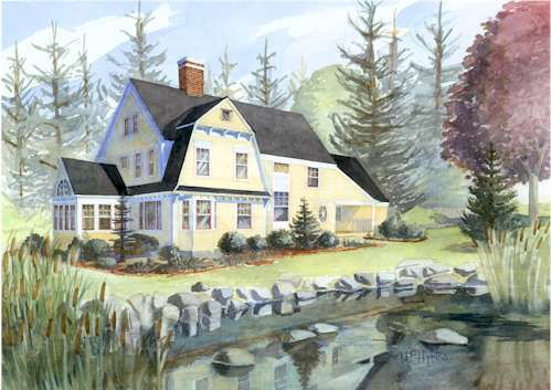 shingle style house plansmaine coast cottage co. offering