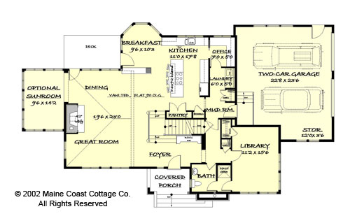 Maine Cottage Style House Plans House Style