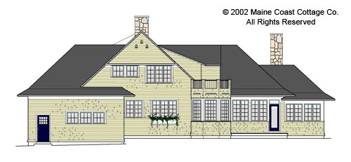 Kennebunkport House Plan And Home Design